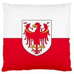 Flag of South Tyrol Large Flano Cushion Case (Two Sides)