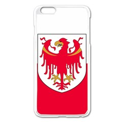 Flag of South Tyrol Apple iPhone 6 Plus/6S Plus Enamel White Case