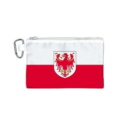 Flag of South Tyrol Canvas Cosmetic Bag (S)