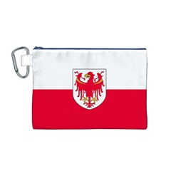Flag of South Tyrol Canvas Cosmetic Bag (M)