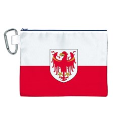 Flag of South Tyrol Canvas Cosmetic Bag (L)