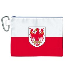 Flag of South Tyrol Canvas Cosmetic Bag (XL)