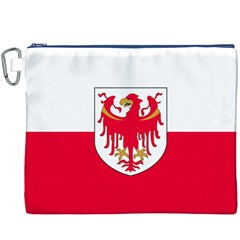 Flag of South Tyrol Canvas Cosmetic Bag (XXXL)