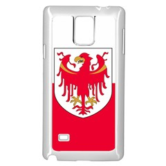 Flag of South Tyrol Samsung Galaxy Note 4 Case (White)