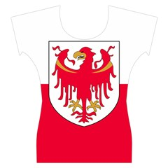 Flag of South Tyrol Women s Cap Sleeve Top