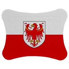 Flag of South Tyrol Jigsaw Puzzle Photo Stand (Bow)