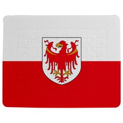 Flag of South Tyrol Jigsaw Puzzle Photo Stand (Rectangular)