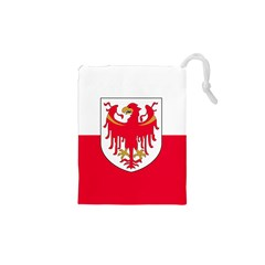 Flag of South Tyrol Drawstring Pouches (XS)