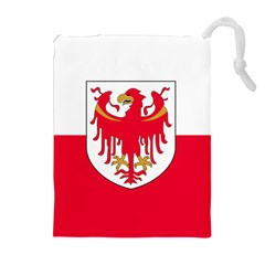 Flag of South Tyrol Drawstring Pouches (Extra Large)