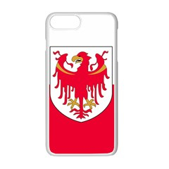 Flag of South Tyrol Apple iPhone 7 Plus White Seamless Case