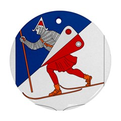 Lillehammer Coat of Arms  Ornament (Round)