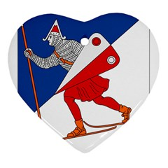 Lillehammer Coat of Arms  Ornament (Heart)