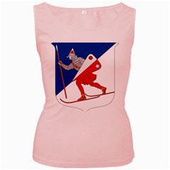 Lillehammer Coat of Arms  Women s Pink Tank Top