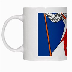 Lillehammer Coat Of Arms  White Mugs