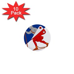 Lillehammer Coat of Arms  1  Mini Buttons (10 pack)