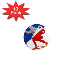 Lillehammer Coat of Arms  1  Mini Magnet (10 pack)