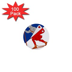 Lillehammer Coat of Arms  1  Mini Buttons (100 pack)
