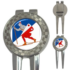 Lillehammer Coat of Arms  3-in-1 Golf Divots
