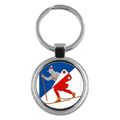 Lillehammer Coat of Arms  Key Chains (Round)