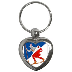 Lillehammer Coat of Arms  Key Chains (Heart)