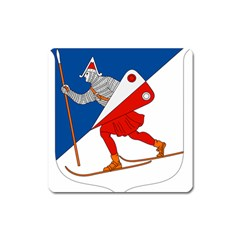 Lillehammer Coat of Arms  Square Magnet
