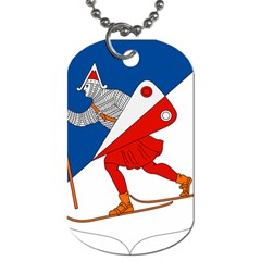 Lillehammer Coat of Arms  Dog Tag (One Side)