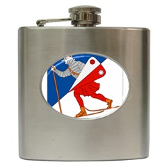 Lillehammer Coat of Arms  Hip Flask (6 oz)