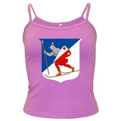 Lillehammer Coat of Arms  Dark Spaghetti Tank