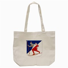 Lillehammer Coat of Arms  Tote Bag (Cream)