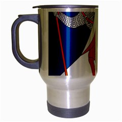 Lillehammer Coat of Arms  Travel Mug (Silver Gray)