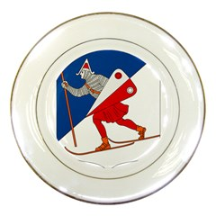 Lillehammer Coat of Arms  Porcelain Plates