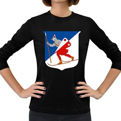 Lillehammer Coat of Arms  Women s Long Sleeve Dark T-Shirts