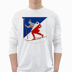 Lillehammer Coat of Arms  White Long Sleeve T-Shirts