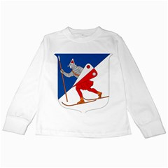 Lillehammer Coat of Arms  Kids Long Sleeve T-Shirts