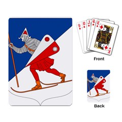 Lillehammer Coat of Arms  Playing Card