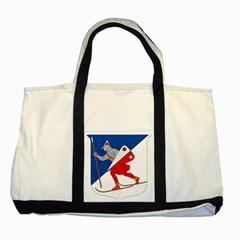Lillehammer Coat of Arms  Two Tone Tote Bag