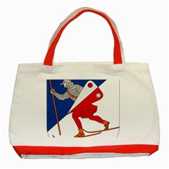 Lillehammer Coat of Arms  Classic Tote Bag (Red)