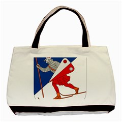 Lillehammer Coat of Arms  Basic Tote Bag (Two Sides)
