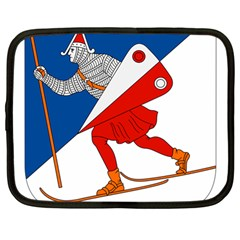 Lillehammer Coat of Arms  Netbook Case (Large)