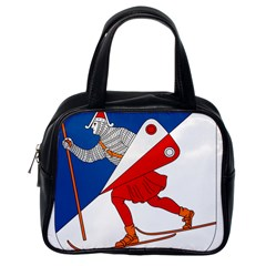 Lillehammer Coat of Arms  Classic Handbags (One Side)