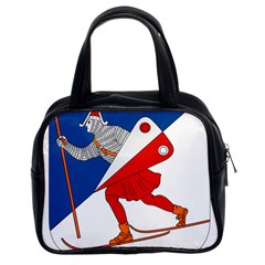 Lillehammer Coat of Arms  Classic Handbags (2 Sides)
