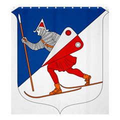 Lillehammer Coat of Arms  Shower Curtain 66  x 72  (Large)