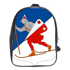 Lillehammer Coat of Arms  School Bags(Large)