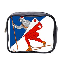 Lillehammer Coat of Arms  Mini Toiletries Bag 2-Side