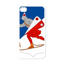 Lillehammer Coat of Arms  Apple iPhone 4 Case (White)