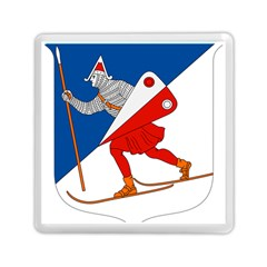 Lillehammer Coat of Arms  Memory Card Reader (Square)