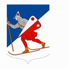 Lillehammer Coat of Arms  Large Garden Flag (Two Sides)