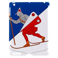 Lillehammer Coat of Arms  Apple iPad 3/4 Hardshell Case (Compatible with Smart Cover)