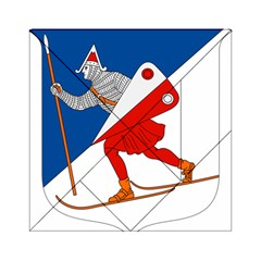 Lillehammer Coat of Arms  Acrylic Tangram Puzzle (6  x 6 )