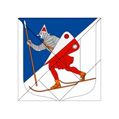 Lillehammer Coat of Arms  Acrylic Tangram Puzzle (4  x 4 )